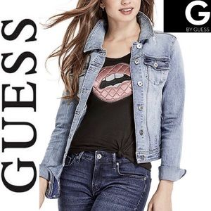G by Guess Jackets & Coats - NWT/G by Guess Alicia Denim Jacket
